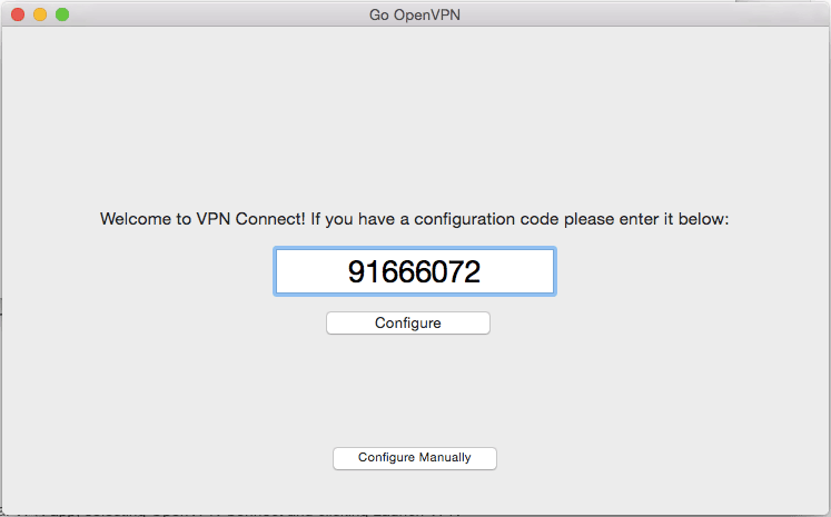 Configuring OpenVPN on Mac, iPhone and iPad | Flow VPN