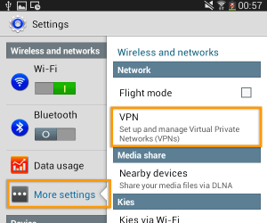 Android4-settings)vpn