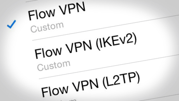 IKEv2 standard in Global VPN app family for iOS 8 and 9