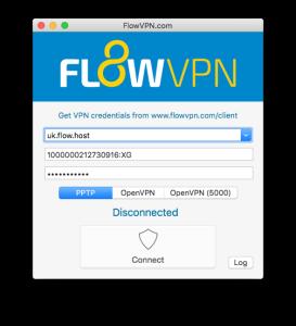 Flow VPN Connect – PPTP, OpenVPN and SSH VPN Client | Flow